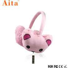 2018 Factory oem Headphone Hot Promotion cute high quality Wireless Bluetooth Stereo Earmuff Headset for kids/promotion