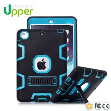 Cases For ipad mini 4 Hybrid silicone pc tablet rubber waterproof case for ipad air 2 case