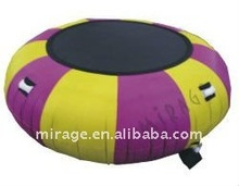 Inflatable water trampoline--inflatable sport game and amusement game