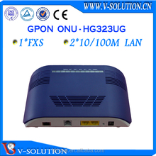 FTTH 1FXS 2FE port Optical fiber ONU GPON ONT Router similar ZTE ZXA10 F600