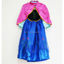 Wholesale frozen princess anna dress costume factory in China KC-0019