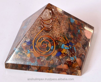 Orgone Chakra Pyramid for healing and metaphysical use