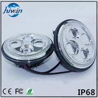 hiwin 7inch round IP67 E-mark approved low beam 48w 2 in 1 car fog light HW-7048
