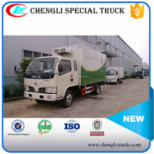 Dongfeng 4x2 5T Small Refrigerator Truck Freezer Refrigerated Vehicle Cold Room Van