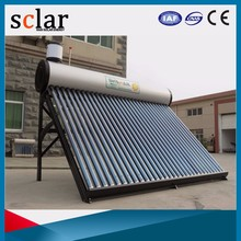 High absorption toilet solar water heater roof system cheap price of solar tube well