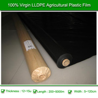 Best Selling Agriculture Products Black Plastic Polyethylene Film Rolls
