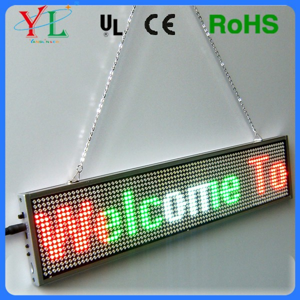 New Model Slim Mix Color & Single Color White Program by Mobile Phone Bluetooth Small LED Display For Window display