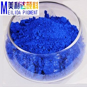 easy dispersed colourful pu foam pigment blue