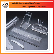 Cheap high quality cnc machining acrylic pc display box case manufacture