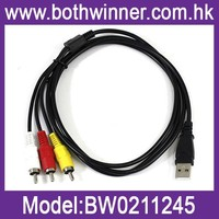 3 RCA to USB Cable