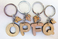 Very cheap keychain, Customized brand, Professional manufacturer wood keychain