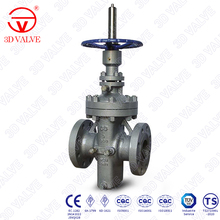 3DV API 6D Design Flange Ends Carbon Steel Slab Gate Valve