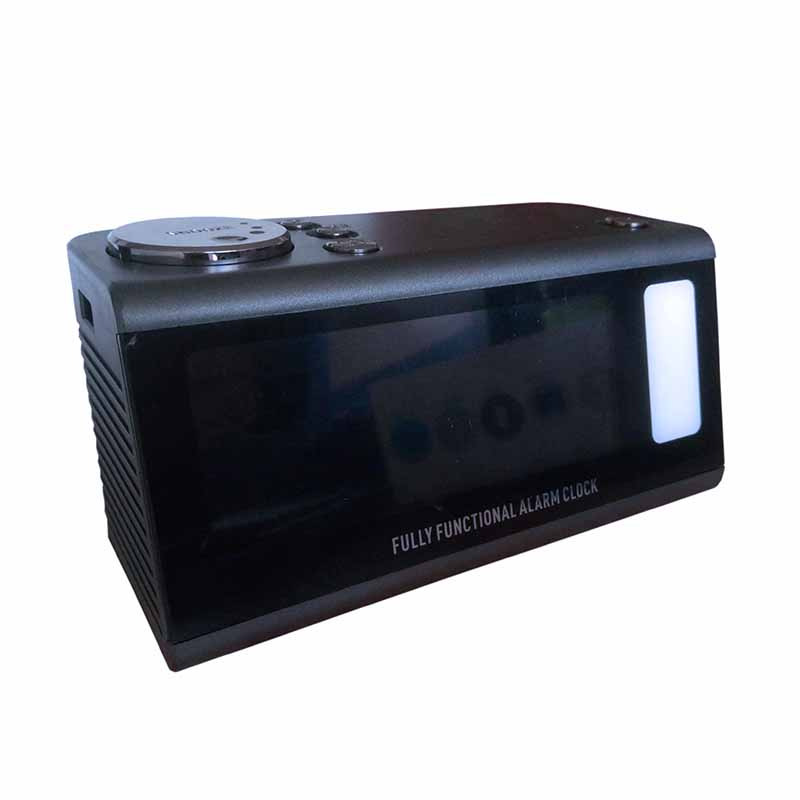 Stereo Sound Volume Docking Station Bluetooth Speaker With Alarm Clock FM Radio Dual USB