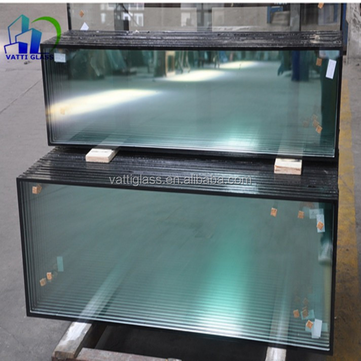 Sound proof energy saving low price insulated low E glass double glazing glass for doors and windows