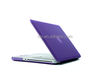 Rubberized Matte Hardshell Laptop Case for Hard Macbook Case Pro 15 In Purple