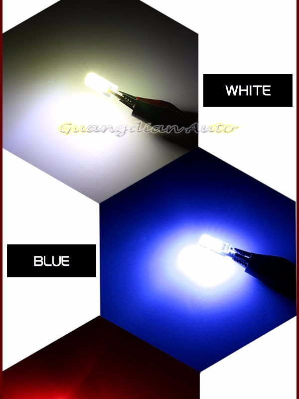 Most popular !!! Guangdian AUTO parts newest waterproof T10 cob reading lamp 20 chip new silicone width lamp
