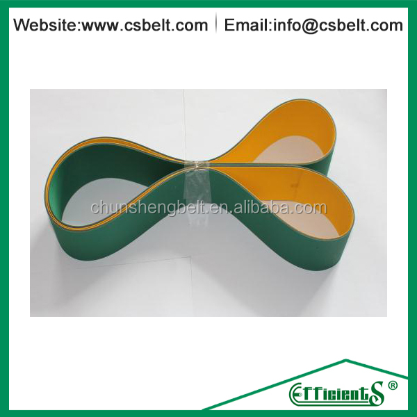 High quality flat rubber stretch belts in China