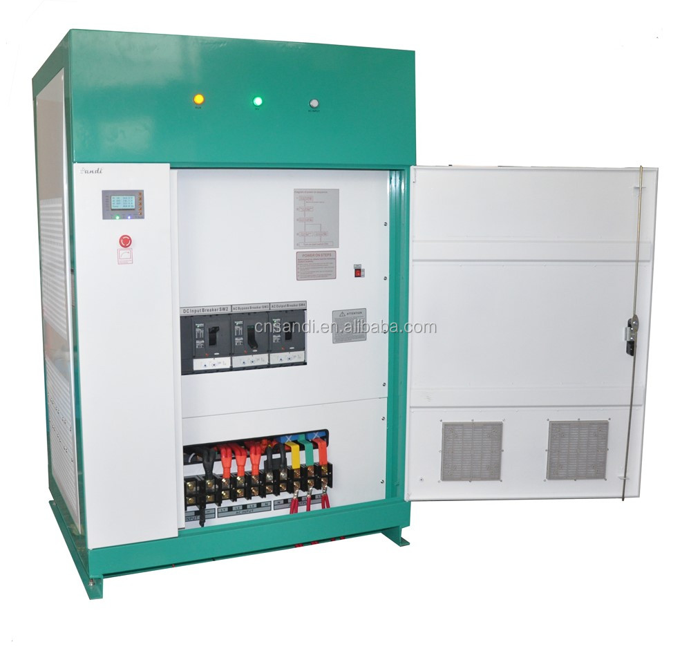 150KW three phase off grid inverter with multifunctional