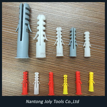 Customized Expand Nail Plastic screw hole plugs nylon wall plug