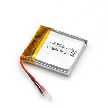 Trade Assurance Small Size 3.7V 400mAh 582528 Polymer Battery