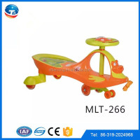 2016 New model kids toys swing bike plastic swing car toys for baby