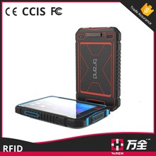 Android OS wireless bluetooth smart card rfid reader and writer for warehouse management