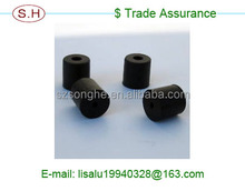 Coustomed OEM service rubber spacer in Dongguan