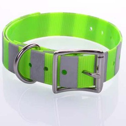 Durable TPU Reflective Pet Training Dog Collar with Custom Safety Material