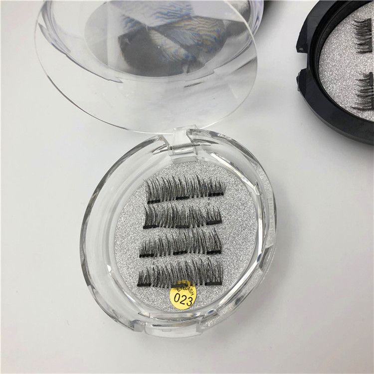Fashion hot sale eyelash box round favor eyelashes packaging paper box eyelashes