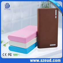 5800Mah 5v 2a/1a Lithium universal portable lcd power bank with dual USB port for iphone samsung htc nokia