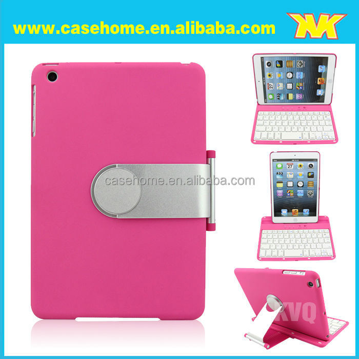 360 degree rotating case bluetooth keyboard for ipad mini 2 case,for ipad mini case with keyboard