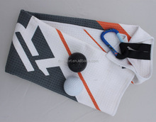 new time funky printing soft golf towels personalized