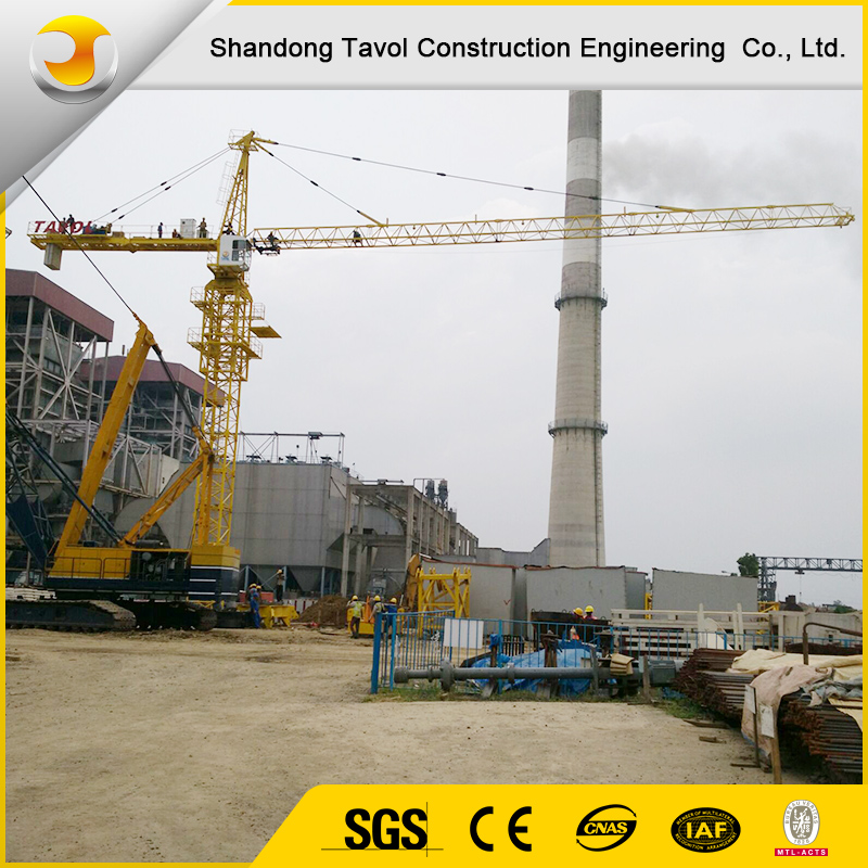QTZ125(6015) Top Kits Tower Crane 10ton Construction Building Tower Crane