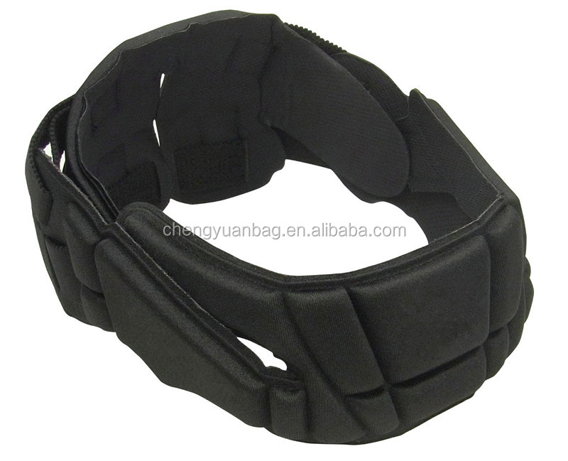 flexible rugby football headgear/headwear for booter