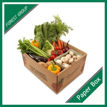 cardboard box for fruit and vegetable vegetables and fruit packaging boxes with printing wholesale
