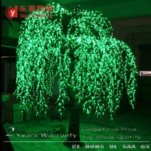 wedding decoration natural trunk white light willow leaf led willow tree lights