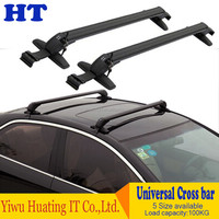 Universal Cross Roof Rack for Cars Without Existing Side Rails Top Luggage Set Cargo Mount Cross Bar Racks Carrier With Lock