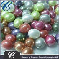 2016 China wholesale 3-30mm HIGH imitation pearls in Loose Pearls