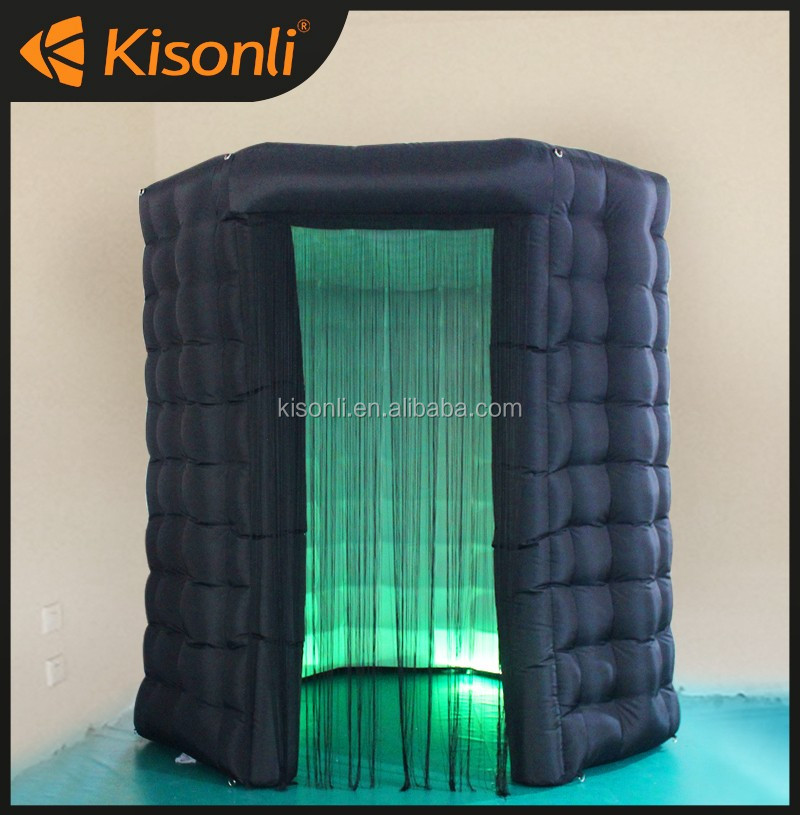 wedding and party use inflatable custom made LED photo booth