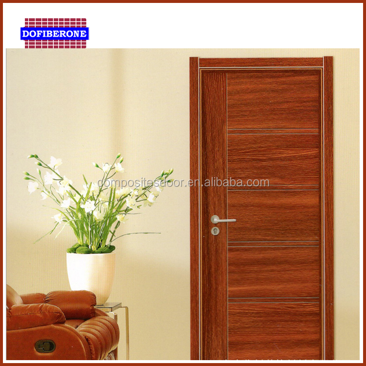 High soundproof manufacturer china PVC fiberglass FRP GRP entry exterior door