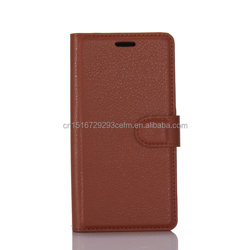 PU Leather Flip Wallet With Card Slots Phone Case Cover For Samsung Galaxy S8 Plus