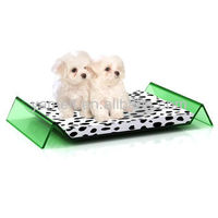 Customized Green Color Acrylic Dog Pets Kennel