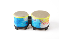 Hot sale high quality sheepskin bongo drum hand drum percussion drum set