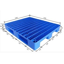 1200 x 1000x160mm heavy duty Euro plastic pallet for racking