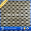 hexagonal galvanize 1mm hole galvanized decorative perforated metal sheet mesh panel speaker grille fence