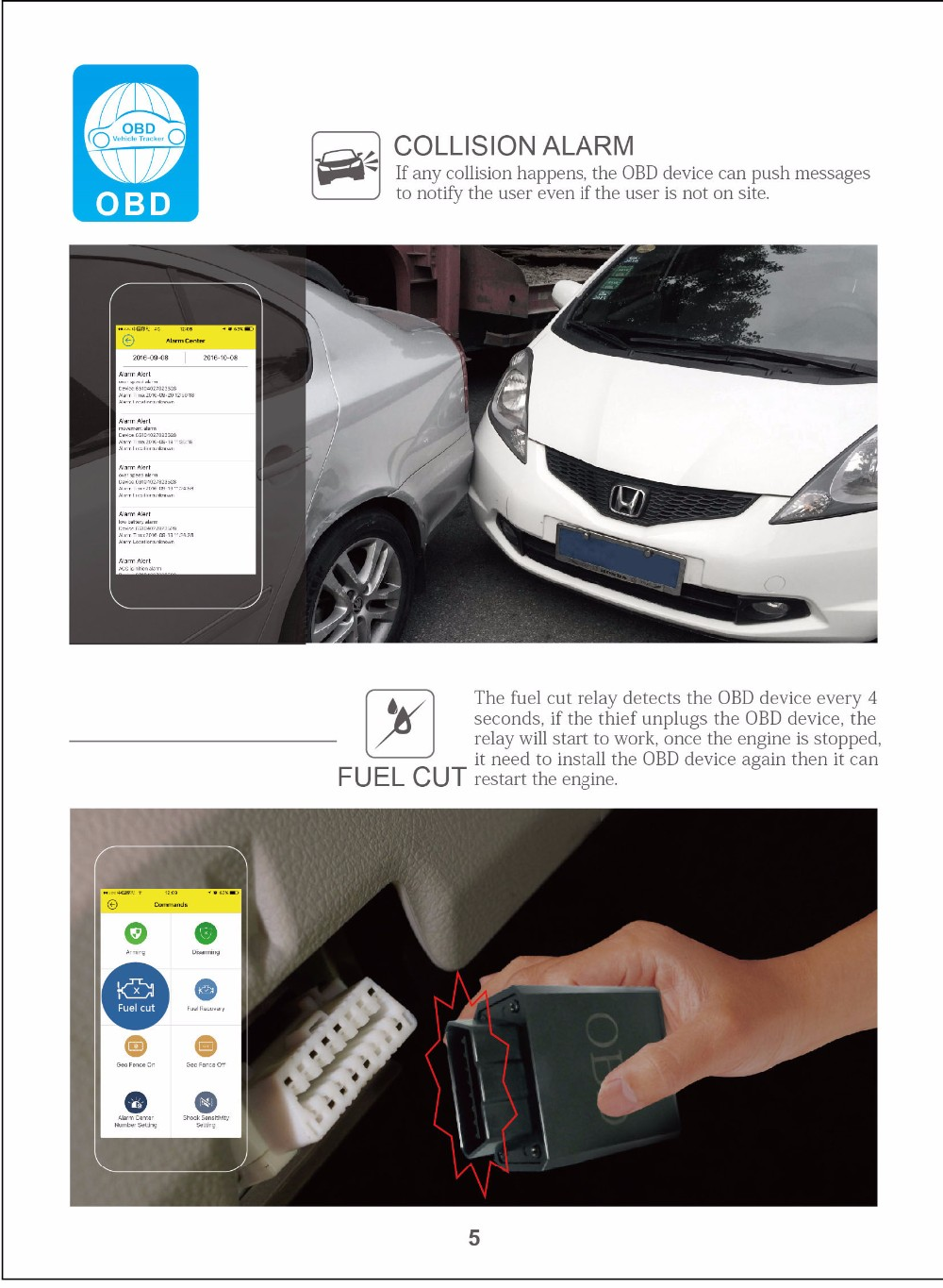 universal gps obd2 car trip computer scanner
