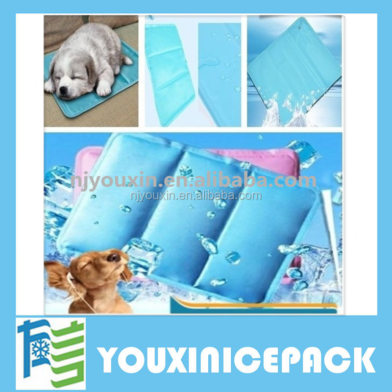 Summer Cool PET Mat Gel Dog Cat Cooling Bed Blue / Ice Pad Cold Non Freezing