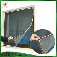 Magic mesh magnetic curtain window magnetic magic mesh screen window