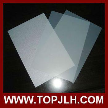 A4 Size Inkjet Pvc Plastic Id Card