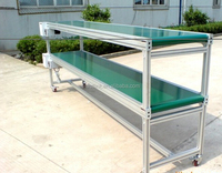 food/package/processing stainless steel conveyor belt system transport machine